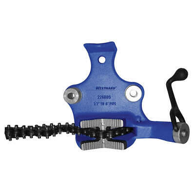 WESTWARD Bench Chain Vise,Top Screw,1/2 to 8 in, 22XR05