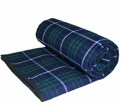 Jumbo Family Sized Xl Waterproof Picnic Blanket Rug Travel Pet Tartan 3M X 2.2M