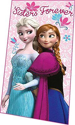 Disney Frozen Elsa & Anna Sisters Forever Fleece Blanket Throw