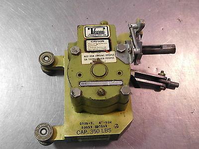 Thern 46P 86-087 Worm Gear Speed Reducer & Winch 350Lbs H70-1512-00