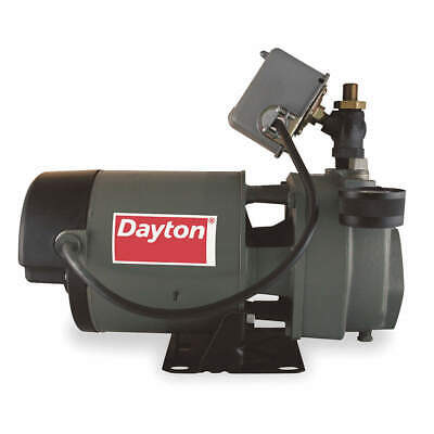 DAYTON 1-1/2 HP Convertible Jet Pump,60 ft Lift, 1D879