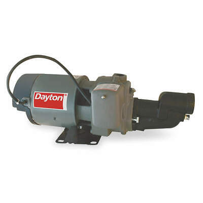 DAYTON 1/2 HP Shallow Well Jet Pump w/ Ejector, 1D881