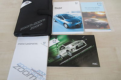 MAZDA 2 2007-2010 Owners Manual Book Handbook with Wallet Pack