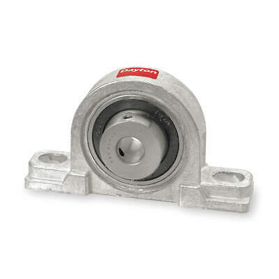 "DAYTON Pillow Block Bearing,Ball,1"" Bore, 4X726"