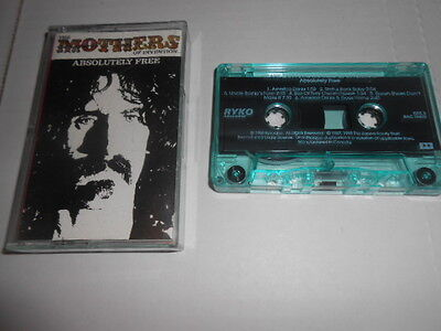 Frank Zappa, Absolutely Free Rare Ryko Cassette Tape