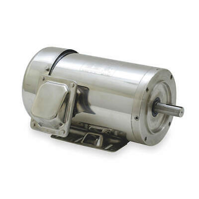 DAYTON Washdown Motor,3 Ph,TEFC,3 HP,1765 rpm, 2RKY5