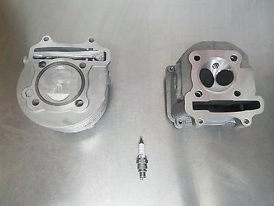 GY6 150cc Scooter OEM Cylinder Kit and Cylinder Head *FREE SPARK PLUG*