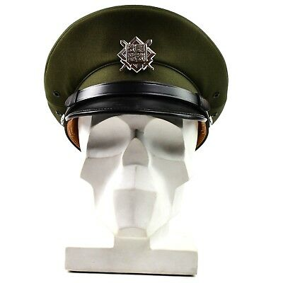 173f15f3c45 Original Czech army peaked cap. olive Air forces military parade cap with  badge