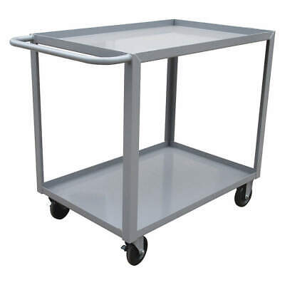 GRAINGER APPROVED Utility Cart,Steel,42 Lx24 W,1200 lb., 9GEY9, Gray
