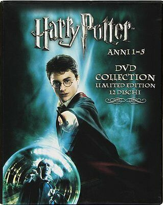 Harry Potter Anni 1-5 DVD Collection - Limited Edition 12-DVD