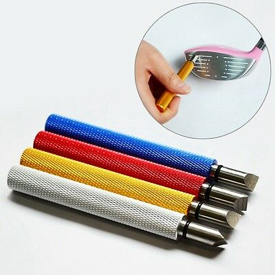 HOT Golf Clean Sharpeners Portable Club Groove Cleaner Perfect Cleaning Tool