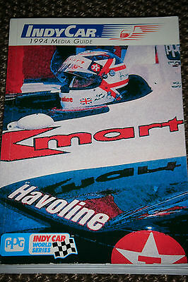 Indy Car 1994 Media Guide Ppg Mario Michael Andretti Eddie Cheever Nigel Mansell