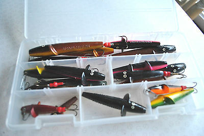 Plano Lure Box + Selection Of Bruce & Walker + Gordon Griffiths Spey Minnows