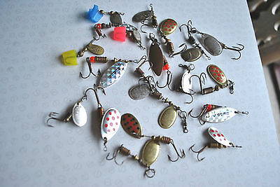 A Good Selection Of Used Mepps Lures Lures