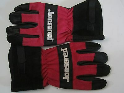 Jonsered Chainsaw Work Gloves Heavy Duty Waterproof Cowhide Leather Glove Large