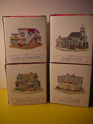 Vtg Liberty Falls Americana Collection, 4-Pack, Fabulous Frontier Design