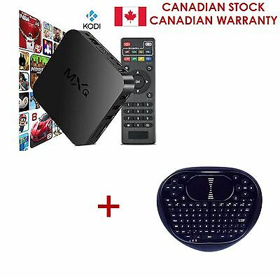 MXQ Android 1 8G  Fully Loaded Smart TV Box w/ FREE Android Mini Remote Control