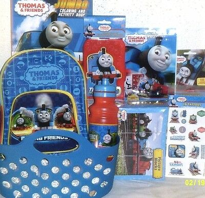 New Thomas The Train Toy Easter Gift Basket Playset Backpack Train Toys Gift Set