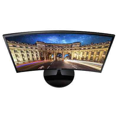 """NEW Samsung LC24F390 23.5"""" Curved Monitor 3 YEAR WARRANTY"""