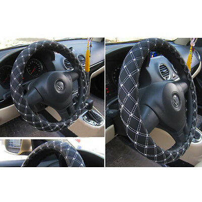 Steering Wheel Cover Plaid For Car With 4 Colors Four Seasons General