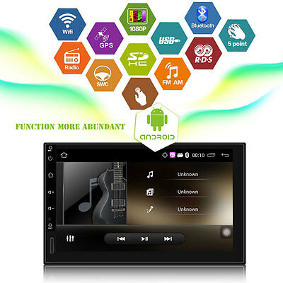 """7""""Android 5.1 Quad Core Car GPS Stereo WiFi + Free Camera Bluetooth"""