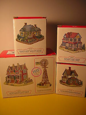 Vtg Liberty Falls Americana Collection, 4-Pack, Fabulous  Frontier Design  (#4)