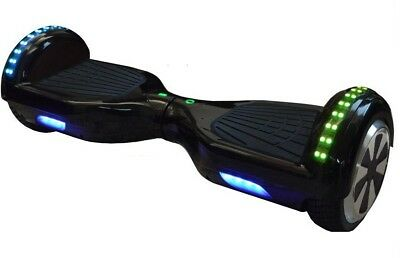 """Gold LED 6.5"""" Hoverboard Swegway + Bluetooth Speaker & UL CE Approved Charger"""