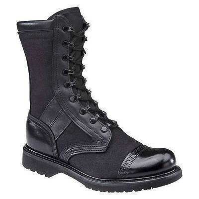 """Corcoran Black Leather Cordura  Marauder 10"""" Combat 17146 10.5D RIGHT BOOT ONLY"""