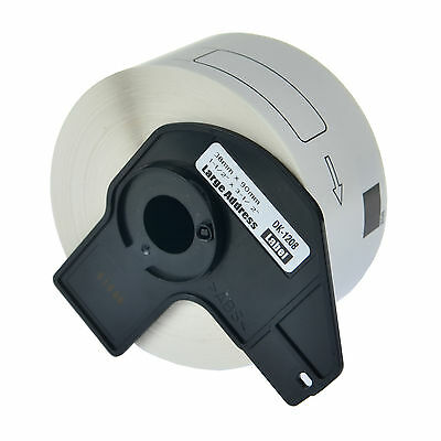 DK-1208 Continuous Large Address Label DK1208 For Brother QL-710W 1060N W/Frame
