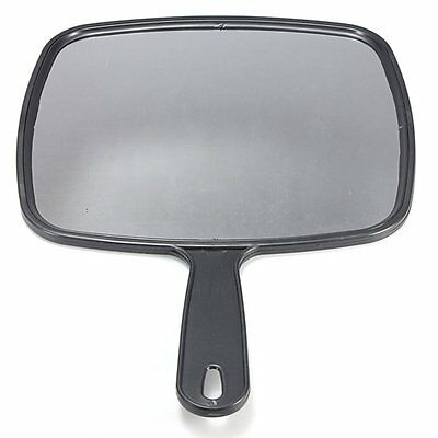 Hand Held Hair dressing Salon Barbers Hairdressers Paddle Mirror Tool SH