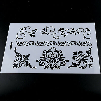 NEW Layering Stencils DIY Scrapbooking Album Decor Embossing Paper Cards Craft