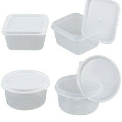 NEW SUREFRESH 24 REUSABLE MINI ROUND CONTAINERS WITH LIDS 2.3 FL 0Z BPA FREE