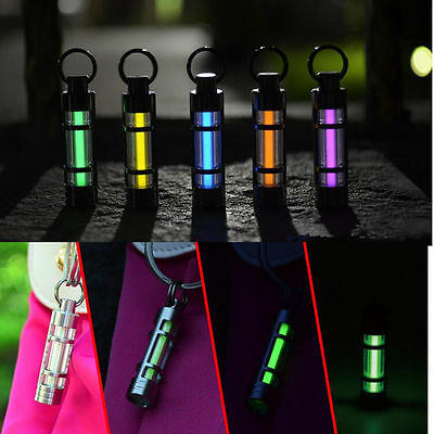 Self-luminous Keychain self illuminating GLOW LIGHT 25 yrs Marker SAFE