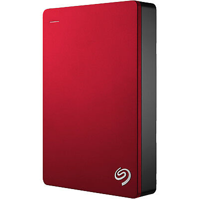 SEAGATE ROT BACKUP PLUS PORTABLE, 5 TB HDD, 2.5 Zoll, extern, Rot