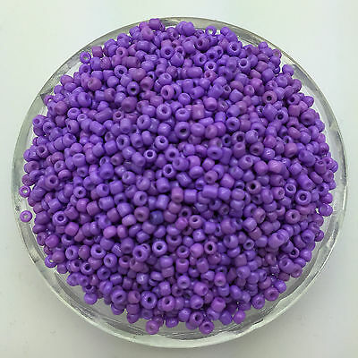 Wholesale 200pcs 4mm Purple Czech Glass Seed Spacer beads Jewelry Fitting