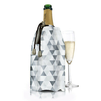 NEW Vacu Vin Active Champagne Diamond Cooler