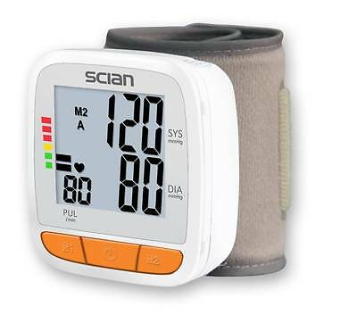Blood Pressure and Heart Rate pulse Monitor CE and FDA Approved.