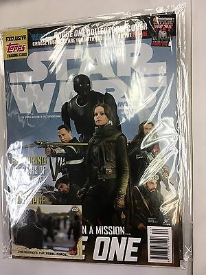 STAR WARS INSIDER Magazine JAN 2017 Issue 170 REBELS COVER BLUE FREE TRADING CAR