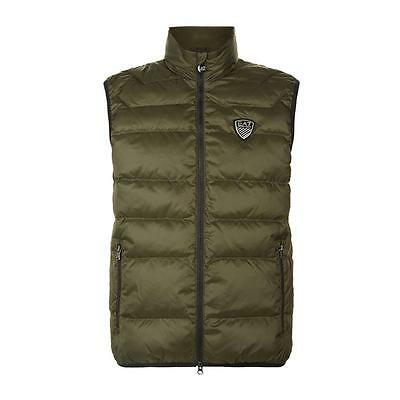 Emporio Armani EA7 Mens Padded Gilet - NEW 2017 - Quilted Jacket | *XS - 3XL*