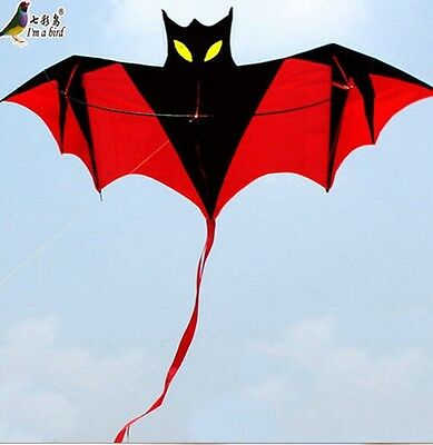 NEW 1.8m Vampire Bat Windsock or Kite easy to fly great gift Outddoor fun Sports
