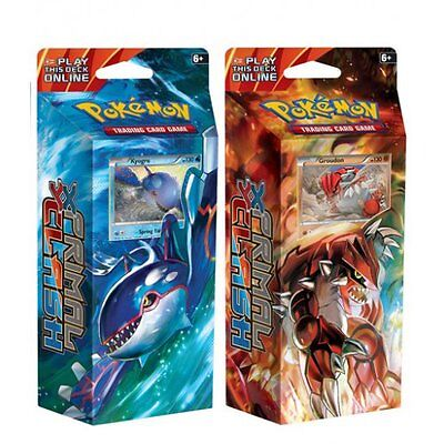 POKEMON XY PRIMAL CLASH * Theme Deck Bundle, Kyogre & Groudon
