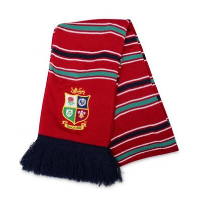 Canterbury British & Irish Lions Rugby Supporters Scarf Red