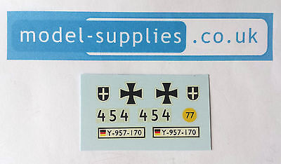 Dinky 692 Dinky Leopard Tank reproduction decal set