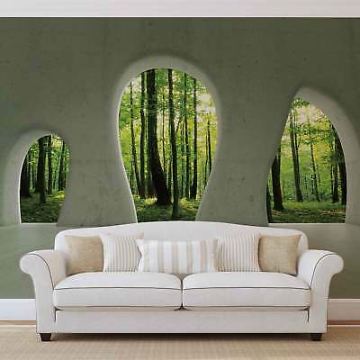 WALL MURAL PHOTO WALLPAPER XXL Forest Woodland View Modern (2822WS)