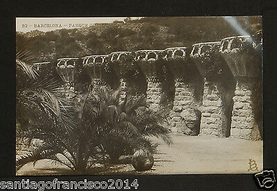 1357.-BARCELONA -82 Parque - Guell (JB) REAL PHOTO