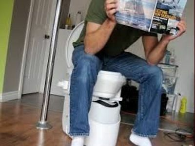 Nature's Head Toilet Composting Marine Boat Rv Cabin Off Grid