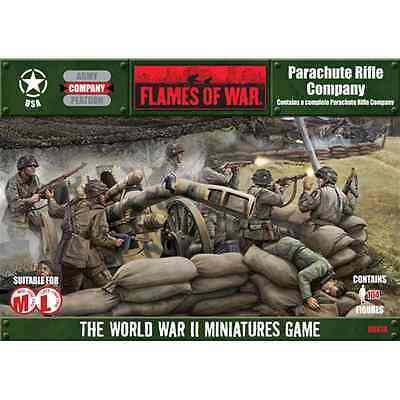 FoW-UBX18 - FLAMES of WAR: 15mm; Parachute Rifle Company