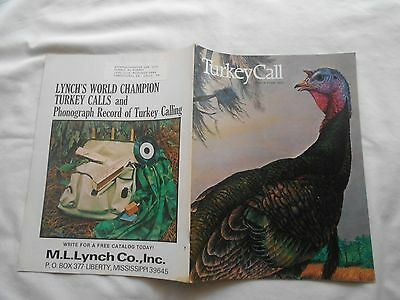 """Turkey Call Magazine-Number Four,1976- """"intruder""""-1976-Bill Wesling Cover"""