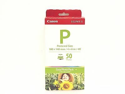 "Genuine Canon E-P50 Easy Photo Pack 1247B001 4""x6"" Postcard Size Sealed"