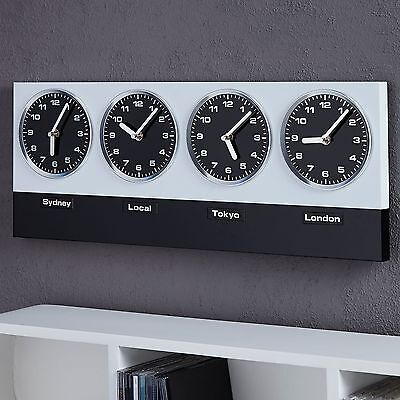 "MODERN WALL CLOCK ""GLOBAL"" 